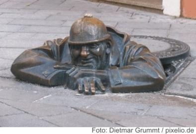 Bratislava, Kanalarbeiter