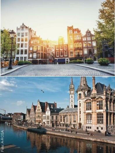 Amsterdam, Gent