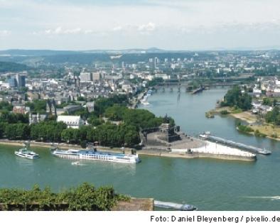 Koblenz, Deutsches Eck