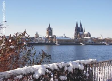 Winterliches Köln
