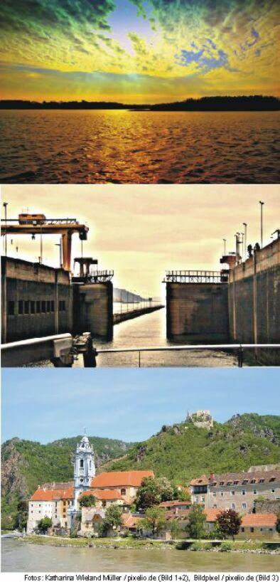 Im Donaudelta (1) / Eisernes Tor (2) / Dürnstein (3)