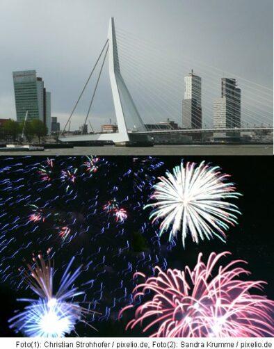 Silvester in Rotterdam