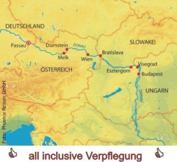 Donauquartett auf der MS Ariana