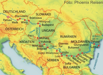 Donau Premium auf der MS Anesha