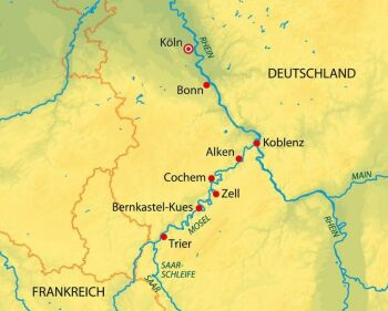 Holland und Belgien entdecken mit der MS Aurelia