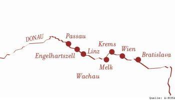 Mit der A-ROSA BELLA nach Wien, Budapest und Bratislava