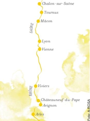 Route Classique mit A-ROSA STELLA