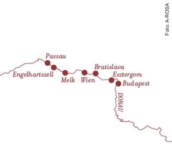 * ab/an Engelhartszell; Kreuzfahrt Donau Klassiker