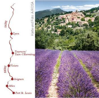 Route Mediterranée mit der A-ROSA LUNA