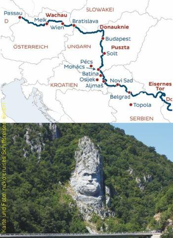 Donau, Eisernes Tor