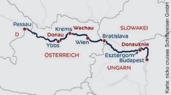 Mit der MS Viktoria nach Südungarn