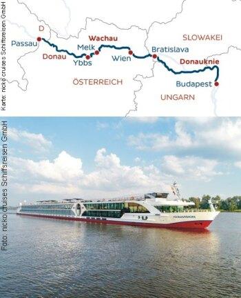 Von Passau nach Budapest mit der nickoVISION