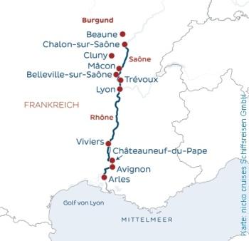 Südfrankreich mit der MS Bijou du Rhone erkunden