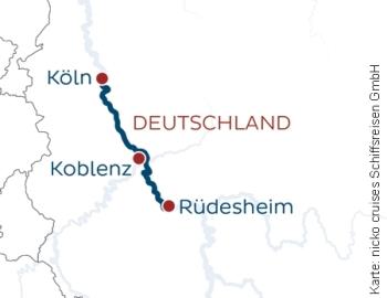 Adventsreise von Köln nach Rüdesheim mit der MS Rhein Symphonie