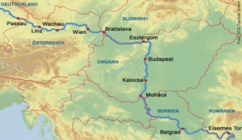 Donaukreuzfahrt mit der DCS Amethyst