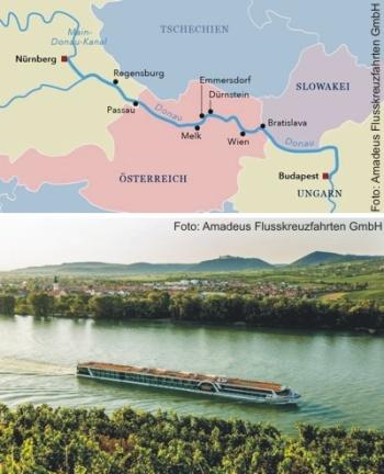 Auf der Donau von Nürnberg nach Budapest