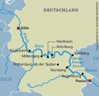 Flussfahrt Rhein Donau Ab Koln