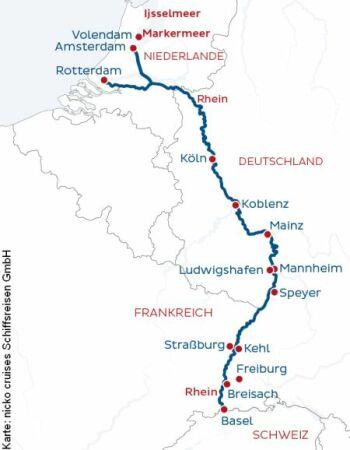 Unterwegs auf Vater Rhein mit der MS Rhein Symphonie