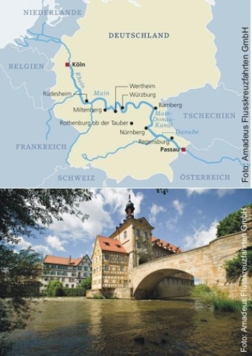 Von Köln nach Passau mit der MS Amadeus Imperial