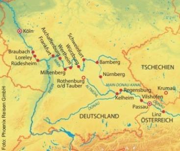 Von Passau nach Köln auf der MS Anna Katharina