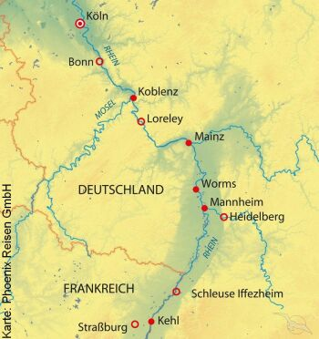 Von Köln nach Straßburg mit der MS Andrea