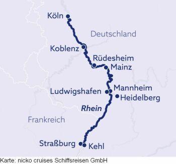Unterwegs auf Rhein und Mosel mit der MS Rhein Symphonie