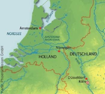 Von Köln nach Amsterdam mit der MS Anna Katharina
