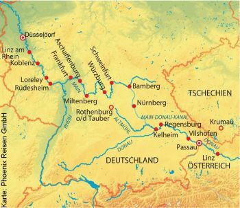 Von Passau nach Düsseldorf mit der MS Annika